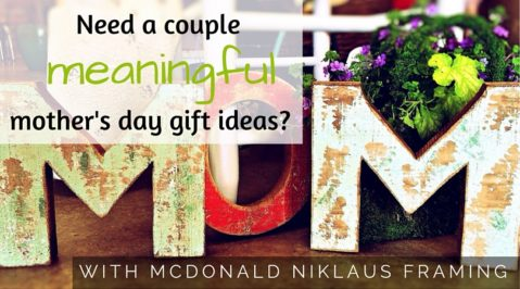 Need a couple meaningful Mother's Day gift ideas?
