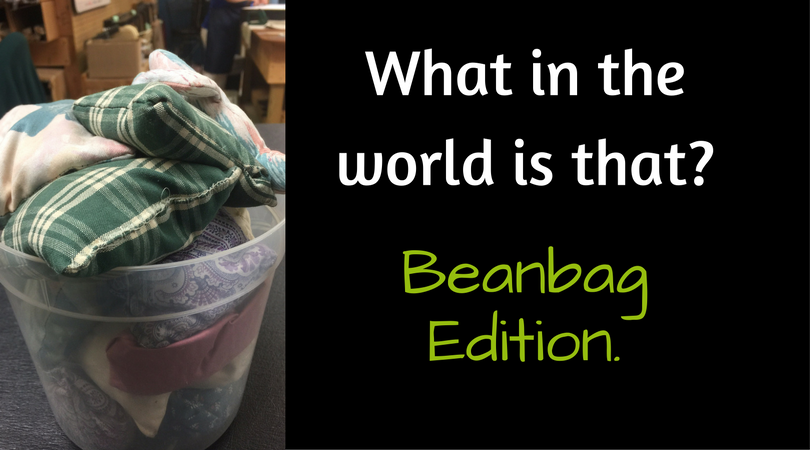 What in the world is that? Beanbag Edition