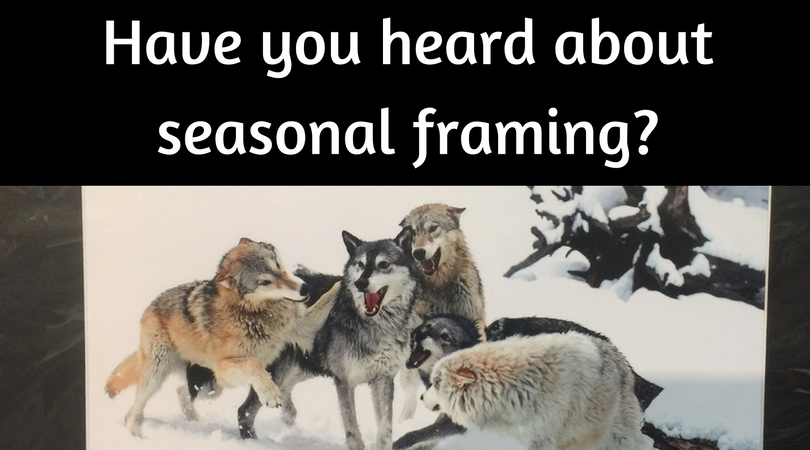 Have you heard about seasonal framing?